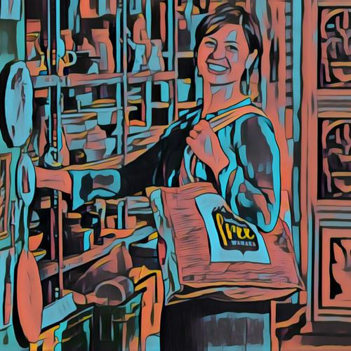 Anna van Riel  ~ Plastic bag free Wānaka ~ #HerVoiceNZ 2019
