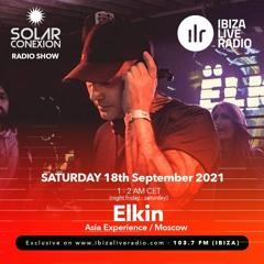 SOLAR CONEXION IBIZA LIVE RADIO SHOW With ELKIN 18.09.21