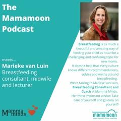 The Mamamoon Podcast Episode 15 - Breastfeeding - beautiful, yet often challenging