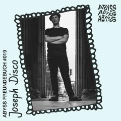 Joseph Disco - ABYSS Freundebuch #019