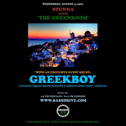 Download Stunna - Greenroom DNB Show (GREEKBOY Guest Mix) (04/08/2021) mp3