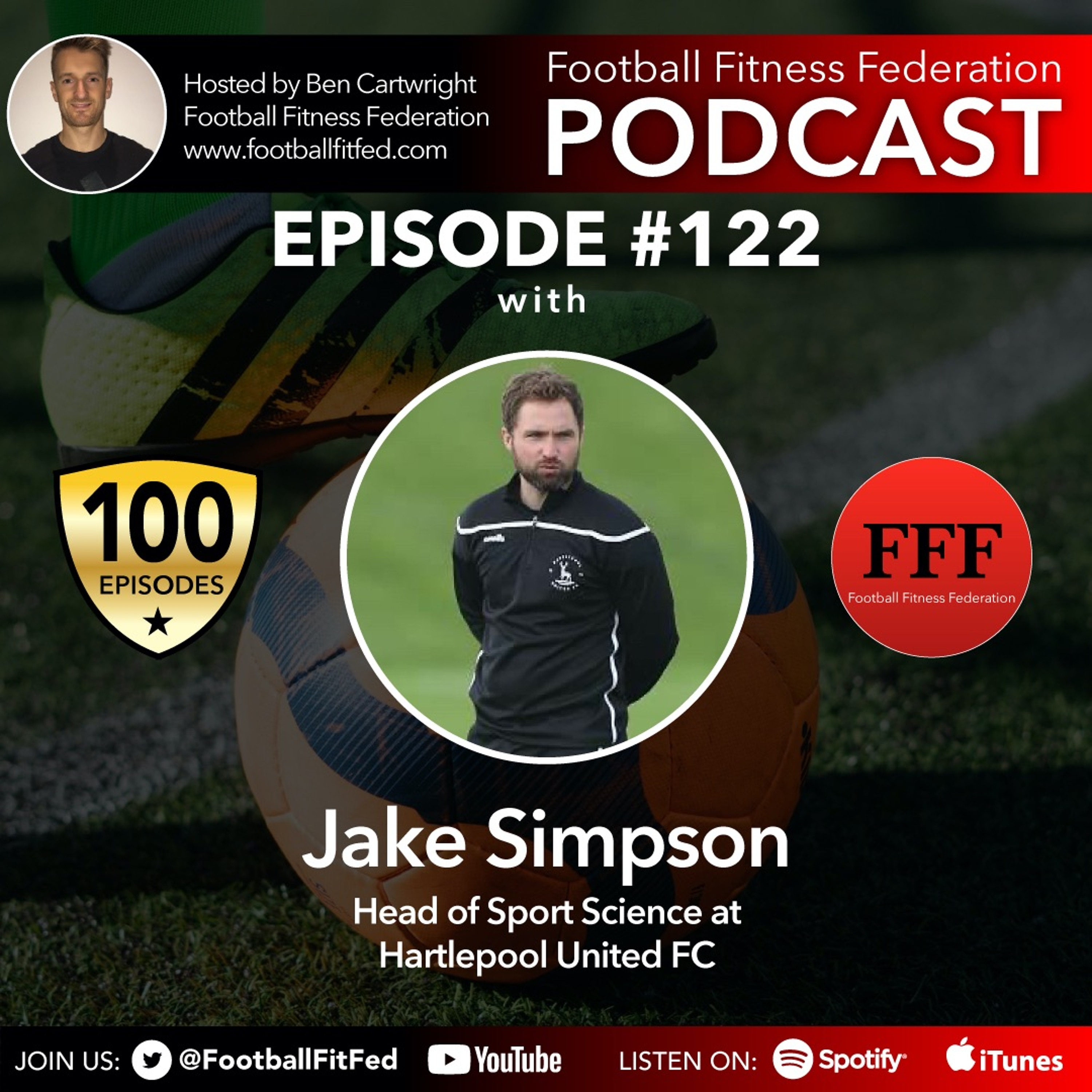 """#122 """"A Day In The Life Of A Sport Scientist"""" With Jake Simpson"""