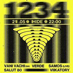 1-2-3-4 @ Hide 210521
