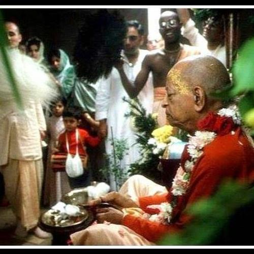 HG Ghana Shyam Prabhu Gets Special Mercy Of HDG Srila Prabhupada