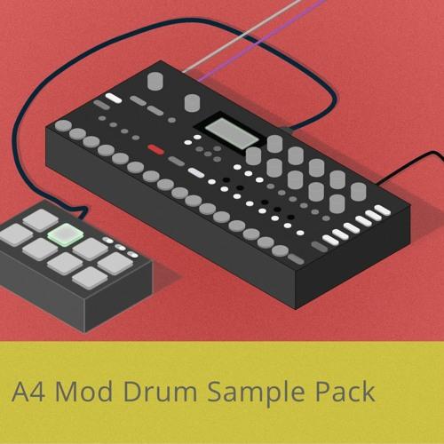 A4 Mod Drum Sample Pack