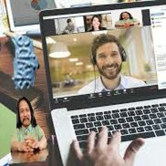 1000 person skype call