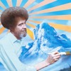 Seeing Colors With Bob Ross
