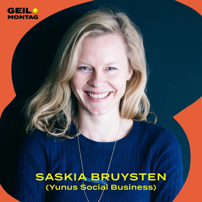 Saskia Bruysten (YSB): Wie gründet man mit einem Friedensnobelpreisträger ein Sozialunternehmen?