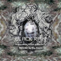 Updated !! Prana & Amanite Fx  - BLACK RAIN (Roy Sason Remix)