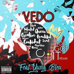 Vedo - You Got It Feat. Yung Bleu (Remix)