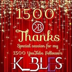 KIZOMBA: 1500 Thanks!!! (Special session foy my 1500 Youtube followers)