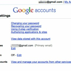 How to recover Google account using mobile number?