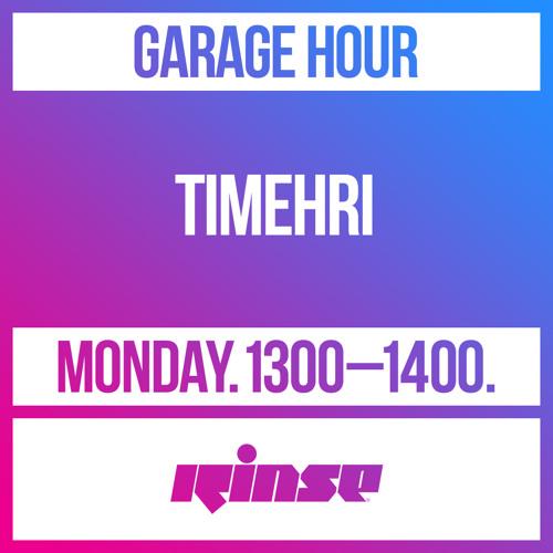 Garage Hour: TIMEHRI -10 May 2021