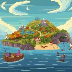 Purrple Cat - Adventure Island