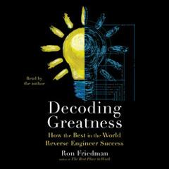 DECODING GREATNESS Audiobook Excerpt