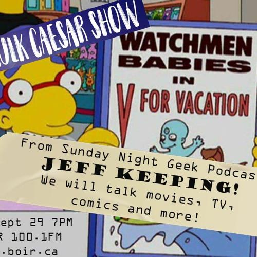 The Hulk Caesar Show - Jeff Keeping - Sept 29 2021
