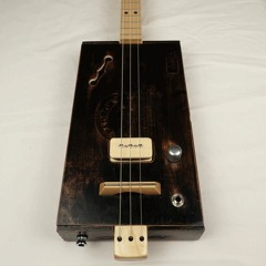 Old Time Padron 3 String Cigar Box Guitar CBG #2184