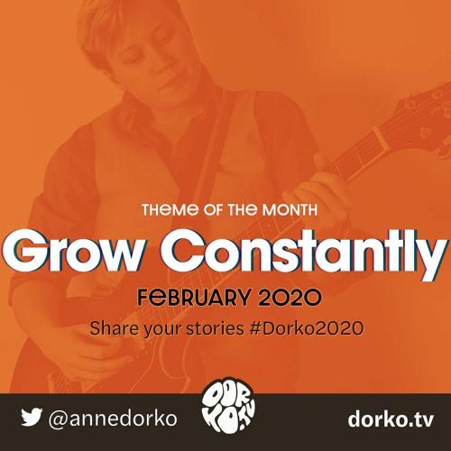 Grow Constantly #Dorko2020