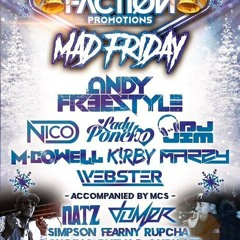 Andy Freestyle Natz & Rhema D- Faction Mad Friday 2019 [Mastered320]