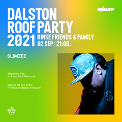 Dalston Roof Party: Slimzee - 02 September 2021