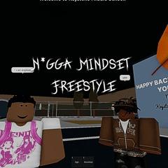 N*GGA MINDSET FREESTYLE (Official Audio)