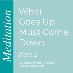 Monica Vermani - What Goes Up Must Come Down Meditation 2