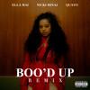 Boo'd Up (with Nicki Minaj & Quavo) (Remix)