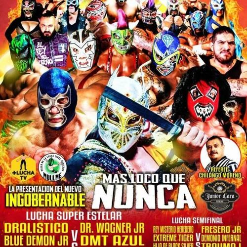 Promociones El Cholo de Tijuana presenta a Dralistico y Blue Demon Jr. en el Auditorio Municipal