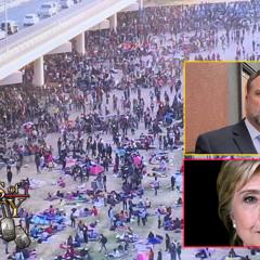 Another Border Invasion, A Clinton/DNC Arrest & A Pastor That Just Won't Back Down
