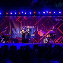 Carlos Michellini cuarteto en vivo Festival de jazz de San Isidro 15-10-21