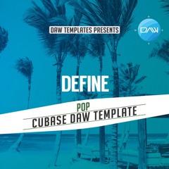 Define Cubase DAW Template