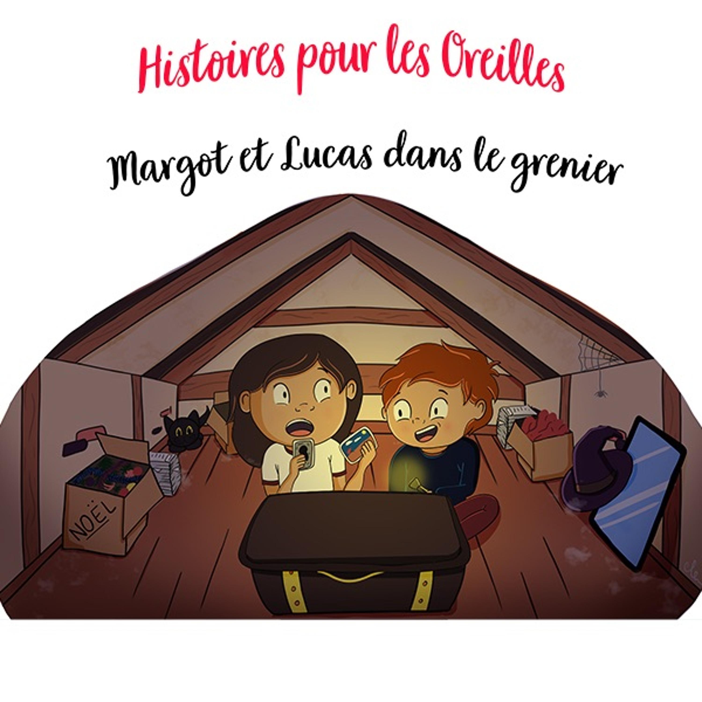 Margot et Lucas dans le grenier