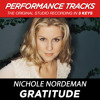 Gratitude (Performance Track In Key Of A-B)
