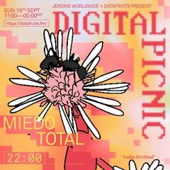 JEROME WORLDWIDE DIGITAL PICNIC - MIEDO TOTAL