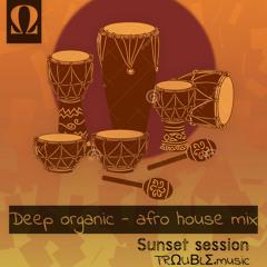 TRΩUBLΣ Deep Organic - Afro House mix