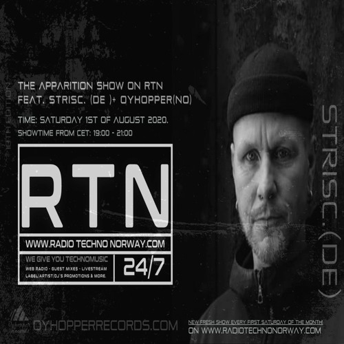 The Apparition Show On RTN, 18th Edition, with STRISC. (UK / DE)