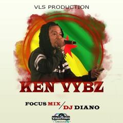 100 % KEN VYBZ ( SESSION 1 - DJ DIANO )
