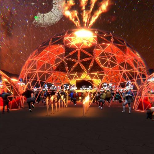 2hrs set from (virtual) Burning Man 2021 (at Incendia)