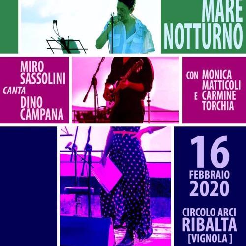 Miro Sassolini live al Ribalta ✮ 16.2.20