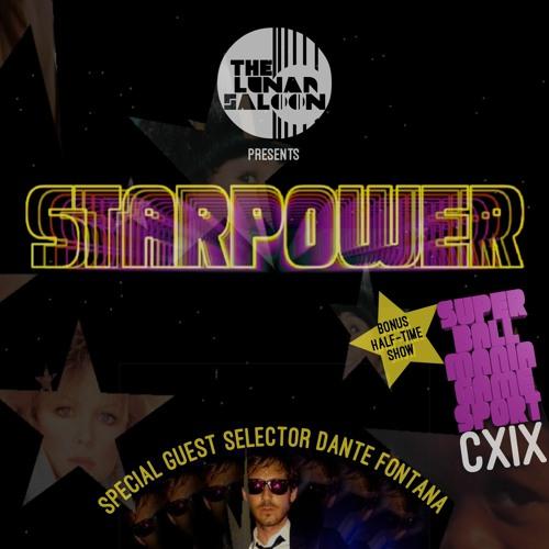 The Lunar Saloon - KLBP - Episode 119 - StarPower - Guest DJ Dante Fontana