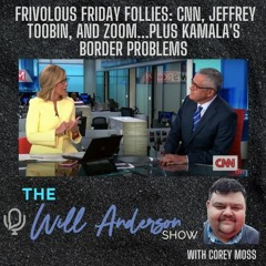 Frivolous Friday Follies: CNN, Jeffrey Toobin, And Zoom...Plus Kamala's Border Problems