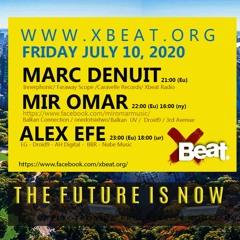 Alex Efe Guest Mix On Xbeat Radio Show 10.07.20