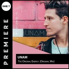 PREMIERE : ÜNAM - The Original Energy (Original Mix)[Tehnika Molodeji]
