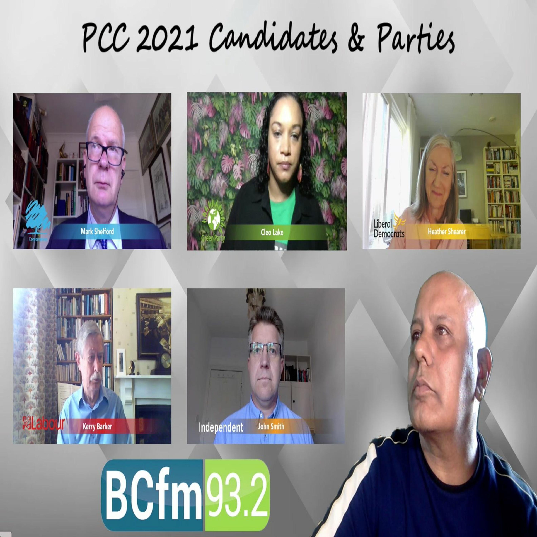 PCC Hustings - 22nd April 2021