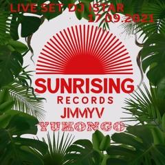 DJ Istar - Sunrising Records Mixsession 17.09.2021 - Yukongo - Jimmy V
