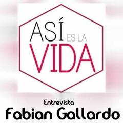 ENTREVISTA A FABIAN GALLARDO