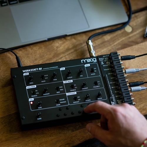 Werkstatt-01 & CV Expander Sound Samples