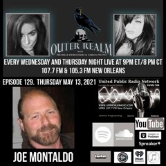 The Outer Realm With Michelle Desrochers and Amelia Pisano w/ alien contact expert Joe Montaldo
