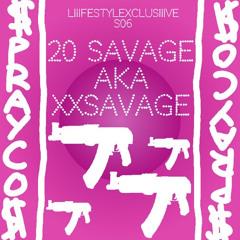 Throwin Band$ - 20 SAVAGE aka XXSAVAGE