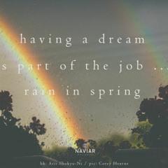 Having A Dream  ( Naviarhaiku 394 )